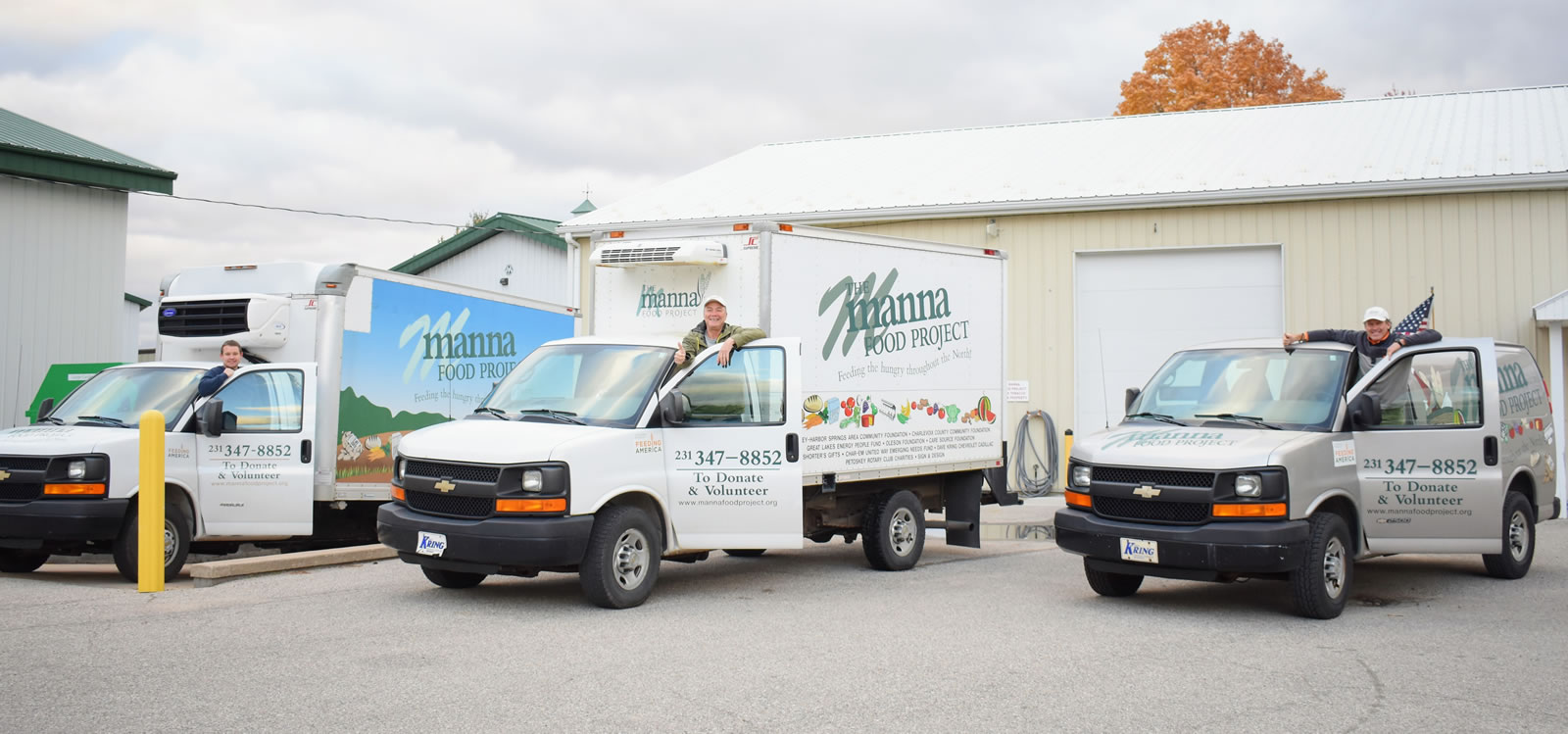 About Manna Food Project - trucks